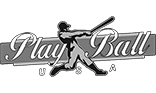 Play Ball Logo Grey